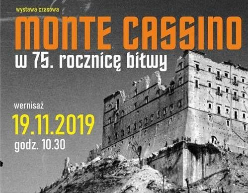 Wernisaż wystawy MONTE CASSINO - W 75 ROCZNICĘ BITWY