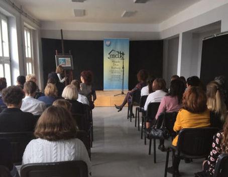 Uczniowie SOSW w Dęblinie na 23 Jesiennym Konkursie Recytatorskim Miejski Dom Kultury w Dęblinie