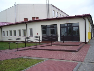 Budowa sali gimnastycznej przy Gimnazjum w Jabłonnie
