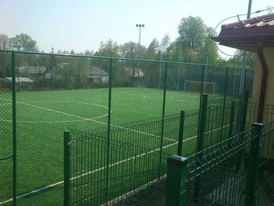 Budowa kompleksu boisk sportowych w ramach programu MOJE BOISKO – ORLIK 2012