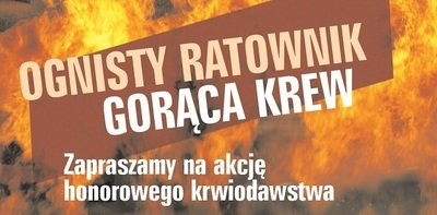 Ognisty Ratownik - gorąca krew!