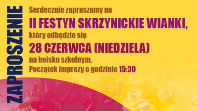 II Festyn Skrzynickie Wianki
