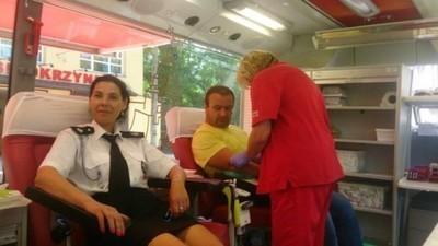 Akcja zbiórki krwi w Skrzynicach