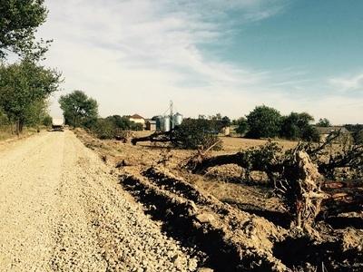 Modernizacja drogi dojazdowej do gruntów rolnych w miejscowości Skrzynice Pierwsze