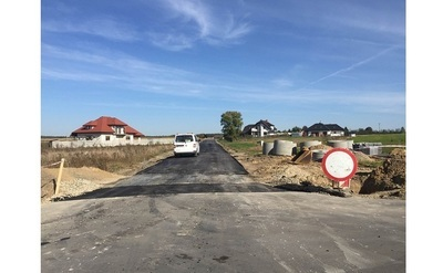 """Modernizacja drogi tzw. """"Wesołej"""" w Jabłonnie Pierwszej"""