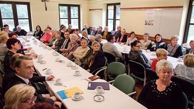 Spotkanie seniorów z samorządowcami - konferencja SENIOR XXI WIEKU
