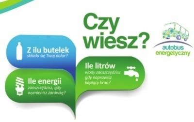 Autobus Energetyczny - mobilne centrum edukacyjno - informacyjne w naszej gminie