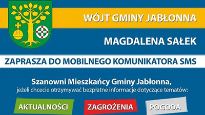 Bezpłatny, gminny komunikator SMS