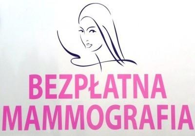 Bezpłatne badania mammograficzne - 15 kwietnia 2016 r.
