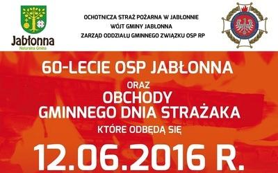 60-lecie Ochotniczej Straży Pożarnej w Jabłonnie i Gminny Dzień Strażaka
