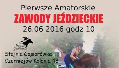 Pierwsze Amatorskie Zawody Jeździeckie