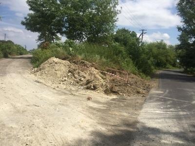 OGŁOSZENIE dot. przebudowy drogi 107151L w Skrzynicach Pierwszych