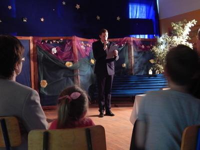 Wieczór z poezją i muzyką w Gimnazjum Publicznym w Jabłonnie