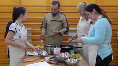 Kuchenne zmagania w Gimnazjum Publicznym w Jabłonnie