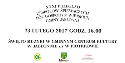 XXXI Przegląd Zespołów Śpiewaczych Kół Gospodyń Wiejskich Gminy Jabłonna