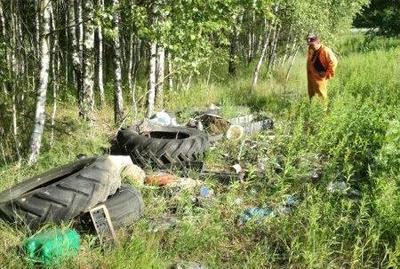 Likwidacja dzikich wysypisk śmieci
