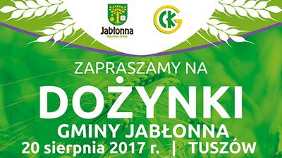 Dożynki Gminy Jabłonna w Tuszowie