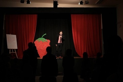 Wielka malina – czyli kolejny Jesienny Konkurs Recytatorski w Gminnym Centrum Kultury