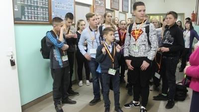 Goście z Ukrainy w Zespole Szkół w Jabłonnie