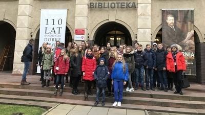 III dzień pobytu gości z Ukrainy w Zespole Szkół w Jabłonnie