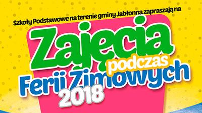 Ferie w szkołach na terenie gminy Jabłonna
