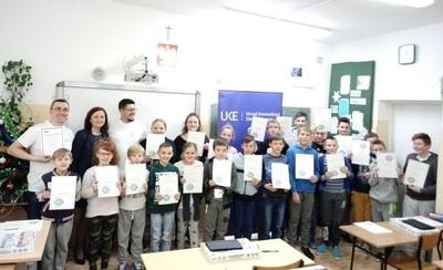 Lekcja kodowania w SP w Tuszowie