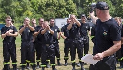 Gminne zawody sportowo-pożarnicze w Bychawie