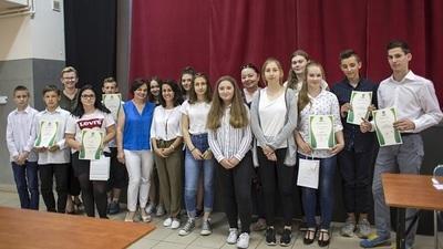 Finał IV. gminnego konkursu wiedzy  o samorządzie gminnym