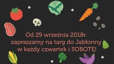TARG w Jabłonnie również w SOBOTY!