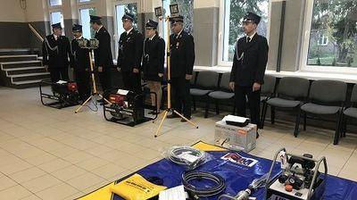 Nowy sprzęt ratowniczy dla Ochotniczych Straży Pożarnych