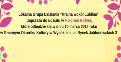 V Forum Kobiet