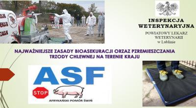 Prezentacja dla rolników - ASF - zasady bioasekuracji oraz przemieszczania trzody chlewnej