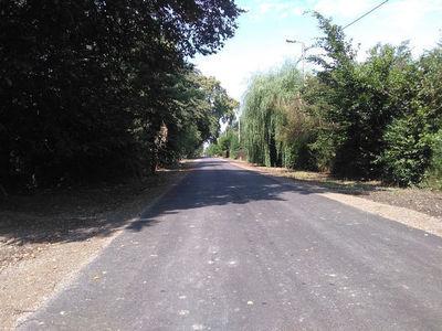 Zakończenie budowy drogi w miejscowości Wolnica