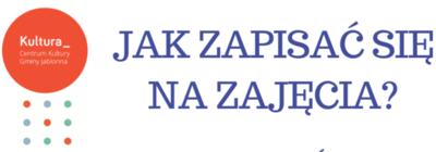 Zapisy na zajęcia w Centrum Kultury Gminy Jabłonna