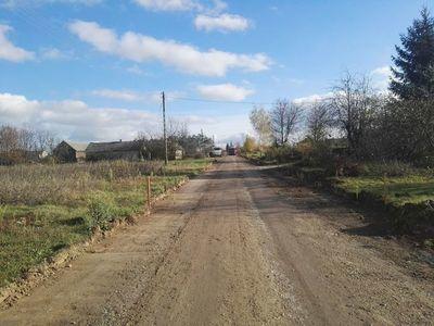 Przebudowa drogi gminnej w miejscowości Skrzynice-Kolonia