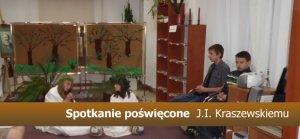 Spotkanie poświęcone  J.I. Kraszewskiemu