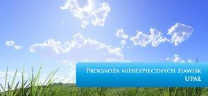 PROGNOZA NIEBEZPIECZNYCH ZJAWISK METEOROLOGICZNYCH z dn. 31.07.2015