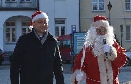 Św. Mikołaj odwiedził nasze Miasto!