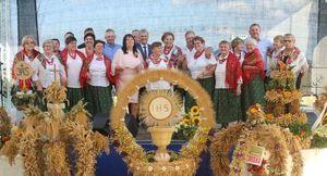 18 sierpnia odbyły się w Górach dożynki gminno-parafialne