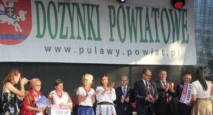 Dożynki Powiatowe w Kurowie