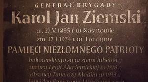 Uroczystości upamiętniające generała Karola Ziemskiego