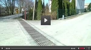 Video - Rozpoczęcie nowych prac budowlanych - odwodnienie