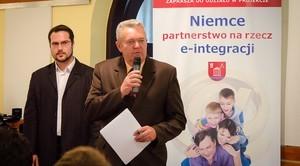 """Konferencja na temat: """"Niemce – partnerstwo na rzecz e-integracji"""""""