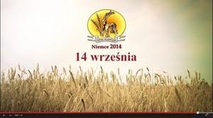 Zapraszamy na Dożynki Wojewódzkie w Niemcach