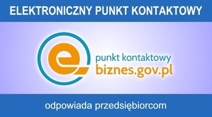 Elektroniczny Punkt Kontaktowy dla przedsiębiorców i nie tylko ...