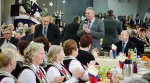 Noworoczne spotkanie wójta z Kołami Gospodyń Wiejskich