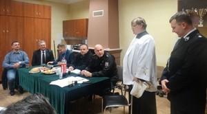 Poświęcenie budynku OSP w Majdanie Krasienińskim