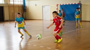 Wojewódzki Turniej Halowy w Piłce Nożnej w Niemcach