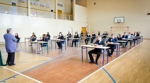 Nasi gimnazjaliści rozpoczęli dzisiaj egzaminy