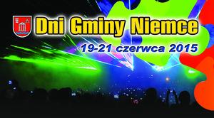ZAPROSZENIE: na obchody Dni Gminy Niemce 2015